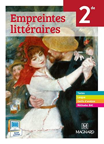 9782210104723: Empreintes littéraires 2e : Livre de l'élève