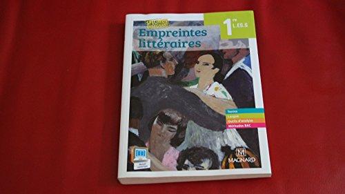 9782210104976: Empreintes littéraires 1eres L.ES.S