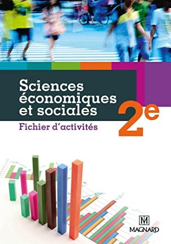 SCIENCES ECONOMIQUES ET SOCIALES 2E FICH: WAQUET ISABELLE