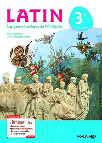 9782210110953: Latin 3e : Langues et cultures de l'Antiquité
