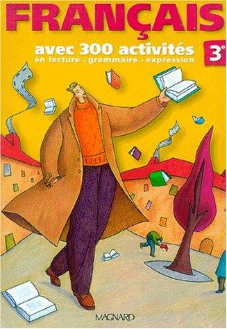 9782210166240: 300 activites de français troisième (French edition)