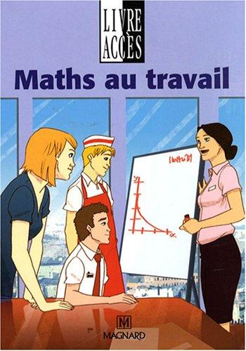 9782210411135: Maths au travail SEGPA : Manuel élève