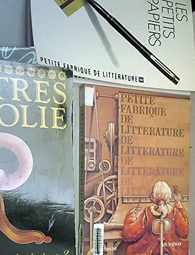 9782210422728: Petite fabrique de littérature