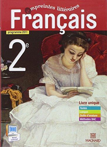 9782210441132: Français 2e : Manuel élève (Empreintes littéraires)