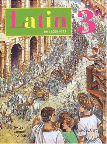 9782210475175: Latin, 3ème