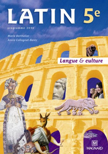 9782210475212: Latin 5e Langue & culture (French Edition)