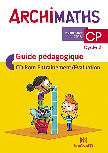 9782210500099: Archimaths CP (Cycle 2) : Guide pédagogique (1Cédérom)
