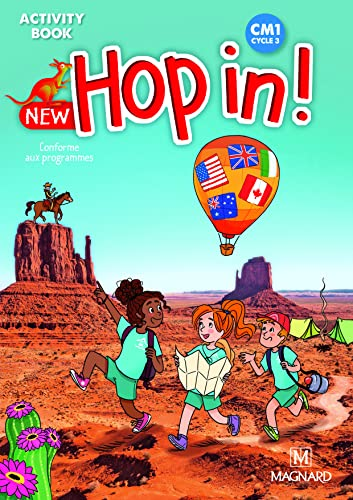 9782210503878: New Hop in! CM1 cycle 3 : Activity Book