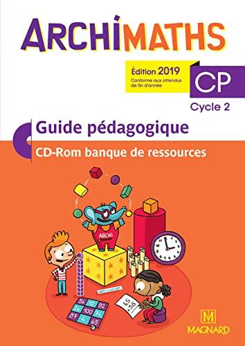 9782210505254: Archimaths CP Cycle 2 : Guide pédagogique (1Cédérom)