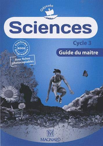 9782210542372: Sciences Cycle 3 : Guide du ma�tre