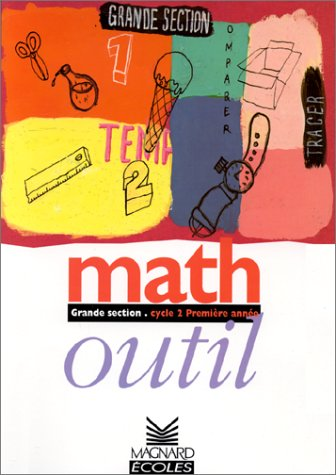 9782210554511: Maths outil. Fichier élève, grande section