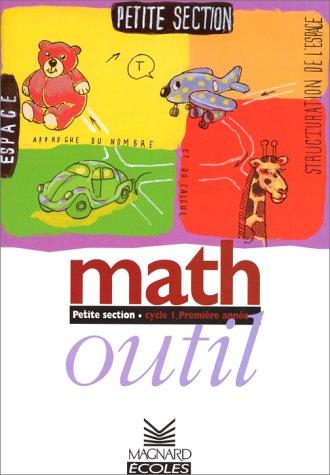 9782210554665: Maths outil petite section. Fichier �l�ve