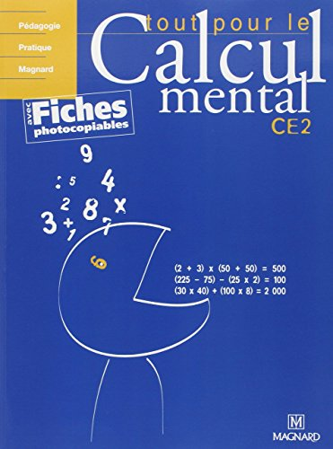9782210555174: Tout pour le calcul mental CE2 (French Edition)
