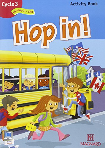 9782210602151: Hop in ! Activity Book Cycle 3 : Niveau 2