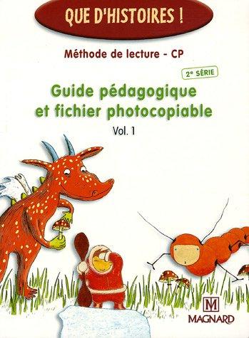 9782210624122: Méthode de lecture CP 2e série : Guides pédagogiques et fichiers photocopiables Volumes 1 et 2