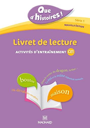 9782210624399: Livret de lecture : Activités d'entraînement CE1, programmes 2008