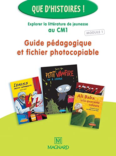 9782210625075: Cm1 Module 1 Guide Pedagogique ET Fichier Photocopiable (French Edition)