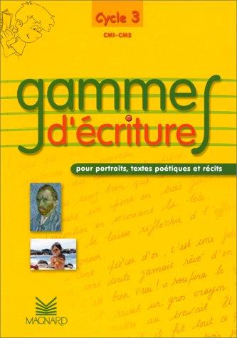 Gammes d'écriture pour portraits, textes poétiques et: Henri Giron