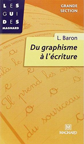 9782210719538: Du graphisme à l'écriture. Grande section