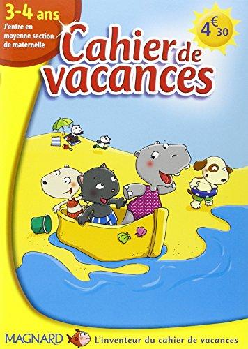9782210741911: Cahier de vacances 3-4 ans : J'entre en moyenne section de maternelle