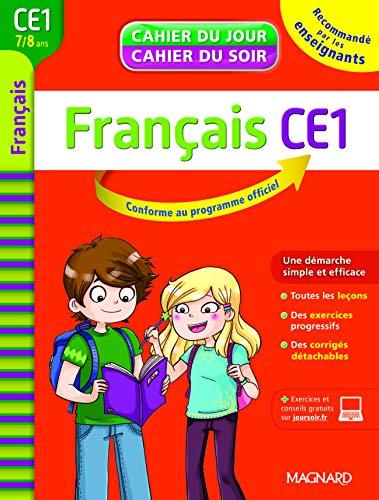 9782210742895: Français CE1, 7-8 ans : cahier du jour - cahier du soir