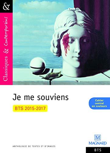 9782210743533: Anthologie Bts 2015 2017 Je Me Souviens