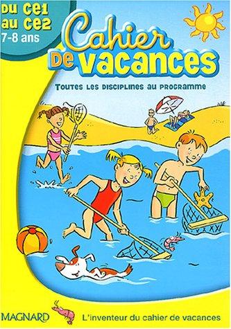 9782210744950: Cahier de vacances du CE1 au CE2