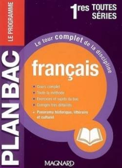 9782210746008: Français 1res toutes séries (Plan Bac)