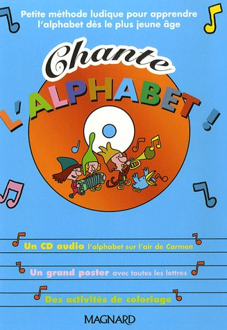 9782210746596: Chante l'alphabet ! (1CD audio)