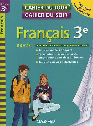 9782210748408: Français 3e Brevet