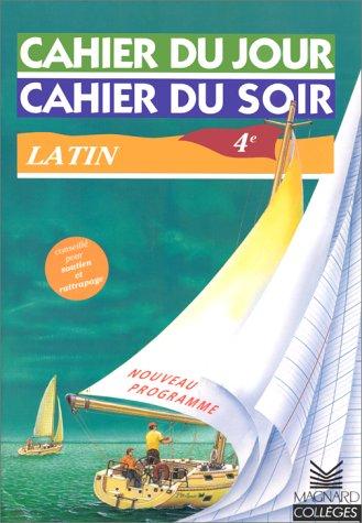 9782210751538: Cahier du jour, cahier du soir : Latin, 4e