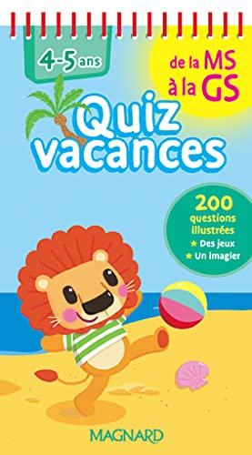 9782210753426: Ms Gs Quiz vacances