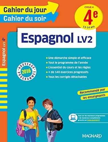 9782210753464: Espagnol LV2 4e Cycle 4 (Cahier du jour/cahier du soir)