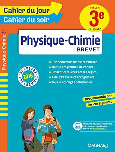 PHYSIQUE CHIMIE 3E 14-15 ANS NED 2016: CAHIER JOUR SOIR