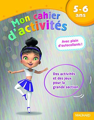 9782210753686: Mon cahier d'activit�s danseuse : 5- 6 ans