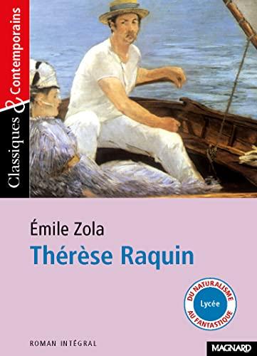 Thérèse Raquin - Emile Zola - Livre: Emile Zola