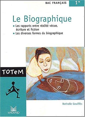 Le biographique, bac français 1ère : Les: Nathalie Gouiffès