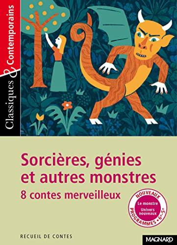 9782210756731: Sorcières, génies et autres monstres - Huit contes merveilleux