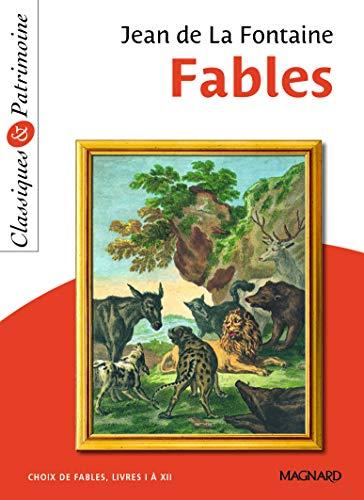 9782210760653: Fables : Choix de fables, Livres 1 à 12 (Classiques & Patrimoine)