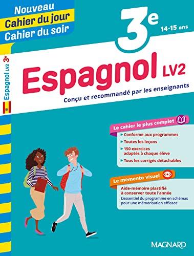 9782210762466: Cahier du jour/Cahier du soir Espagnol 3e
