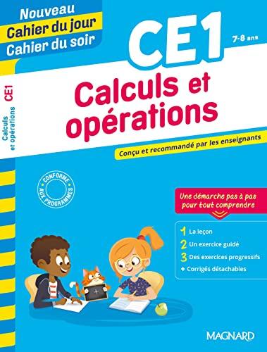 9782210763951: Nouveau Cahier du Jour/Cahier du Soir Calculs et opérations CE1