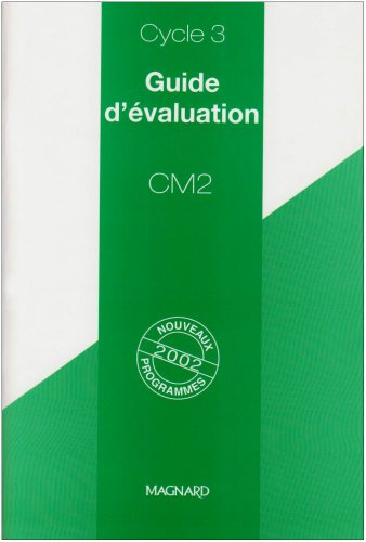 9782210891098: Guide d'évaluation CM2
