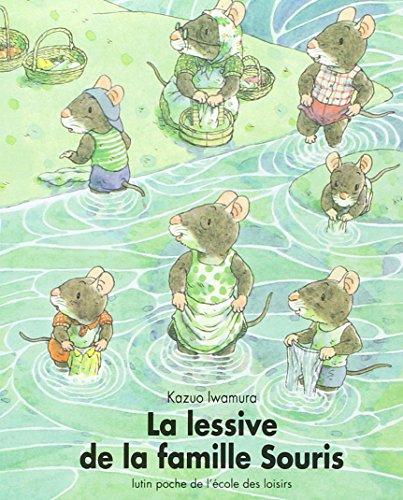 9782211015325: Iwamura/Lessive Famille Souris (French Edition)