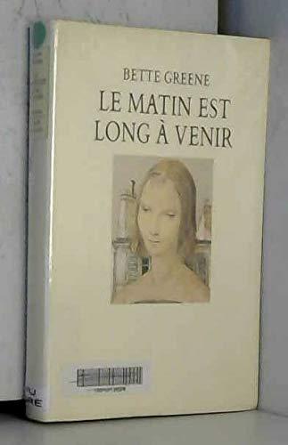 9782211017145: Matin est long a venir (le)
