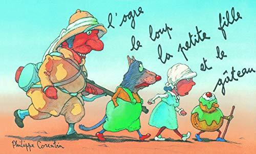9782211031844: L'Ogre, le loup, la petite fille et le gâteau