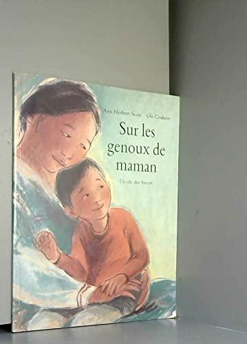 9782211040402: Sur les genoux de maman