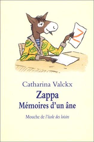 9782211057080: Zappa, mémoires d'un âne