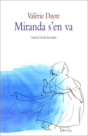 9782211059442: Miranda s'en va