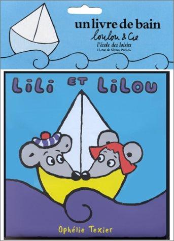 9782211065566: Lili et Lilou (livre de bain)