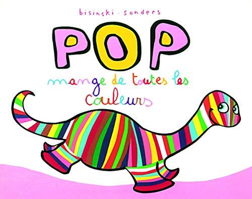 9782211093019: Pop mange de toutes les couleurs (Lutin poche)